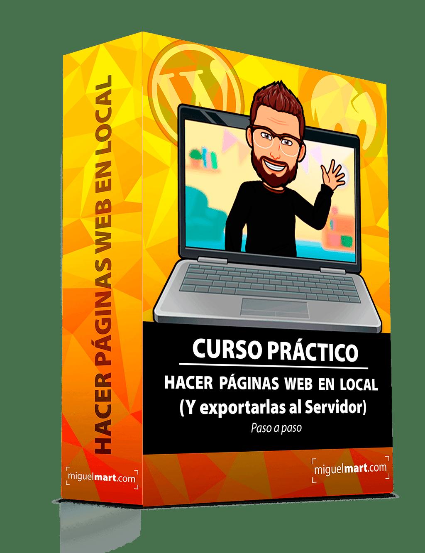 Curso Hacer páginas Web en local y exportarlas al Servidor