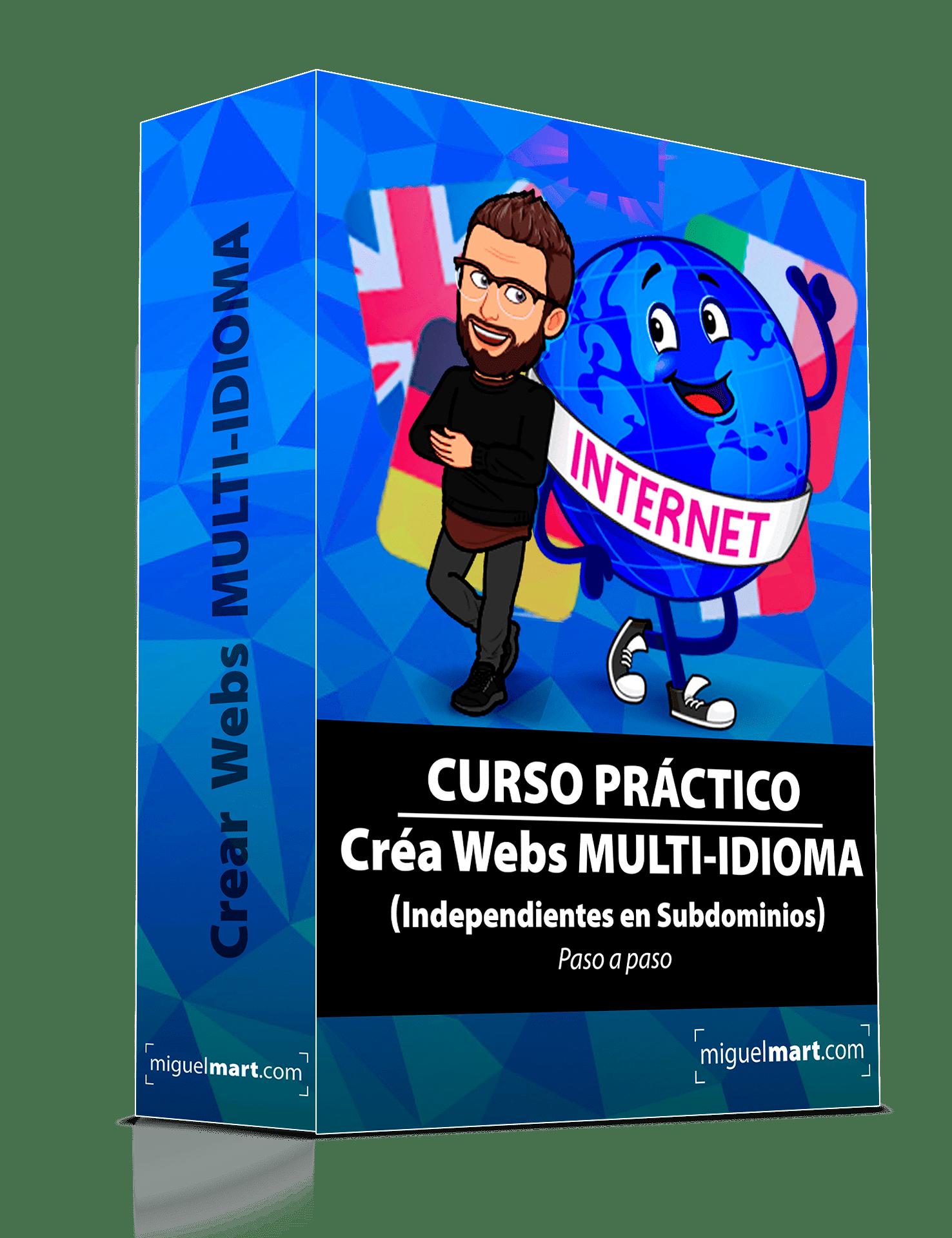 Crea Webs MULTI-IDIOMA INDEPENDIENTES